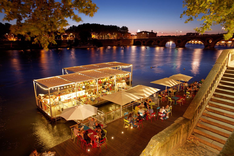 La Guinguette Ephemere Sur La Garonne Toulouse France C P Nin Ville De Toulouse Espana Agendas Mundo