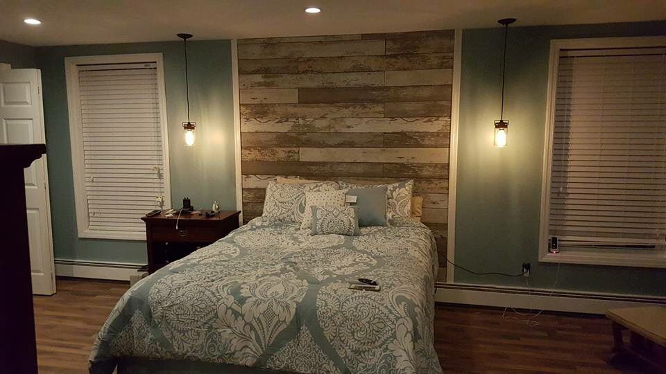 59 Incredibly Simple Rustic Décor Ideas That Can Make Your: Used Laminate Flooring That Looked Like Reclaimed Barn