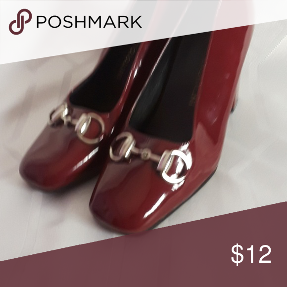 01f94bc5095 Enzo Angiolini Red heel preowned pump shoes 5.5 These are nice ...