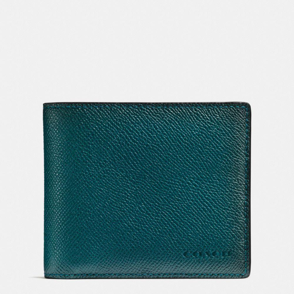 COACH 3-In-1 Wallet In Burnished Crossgrain Leather. #coach #bags #leather #wallet #accessories #