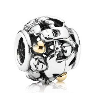 Family is very important to many people. Show them you love them with this special family forever PANDORA charm!