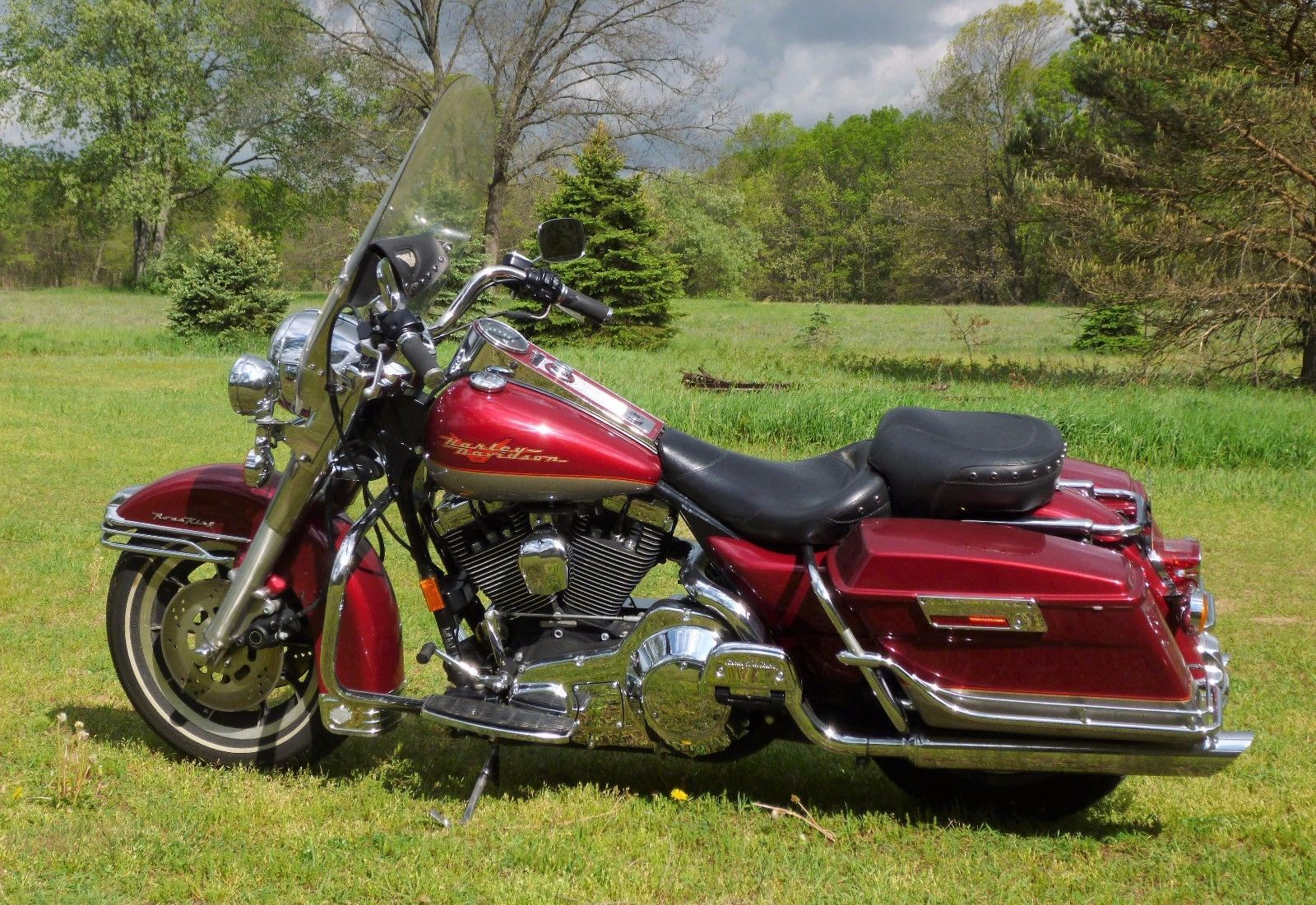 Ebay 1997 Harley Davidson Touring Road King Mint Cond Wont