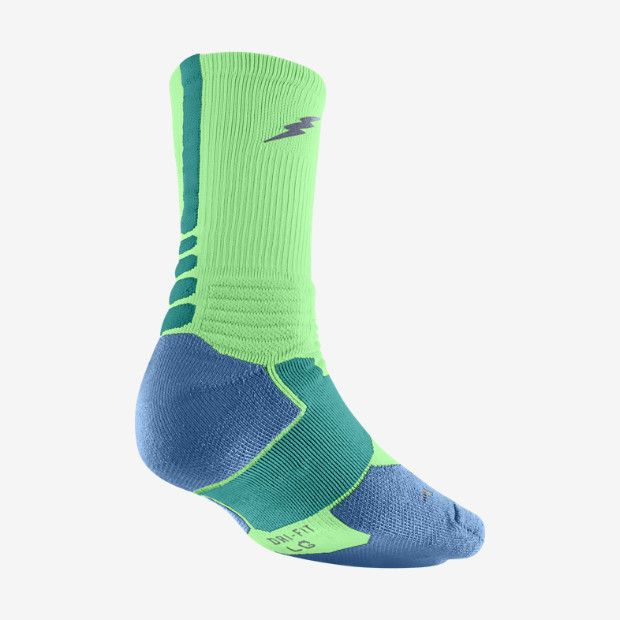 6447cce206da KD Hyper Elite Crew Basketball Socks