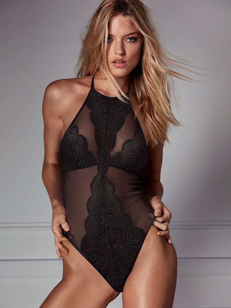 a142f45daeb Crochet High-neck Bodysuit - Very Sexy - Victoria's Secret | undies ...