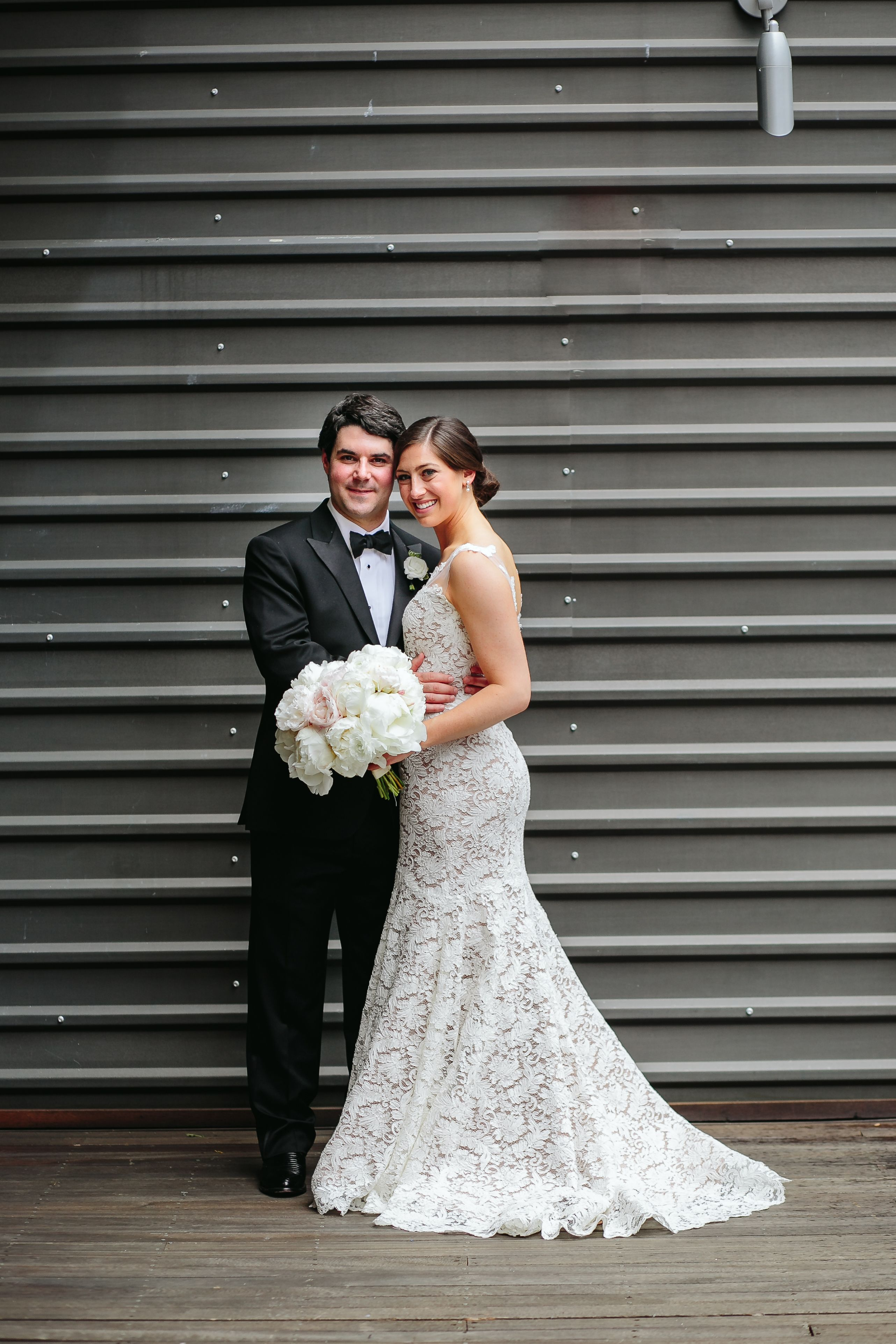 Bride and Groom at Brazos Hall in Austin, Texas Wedding