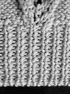 Artesanato e Cia : tricô com acabamento elástico nos punhos
