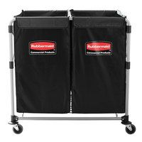 Rubbermaid 1881781 Collapsible Two Section 4 Bushel X-Cart