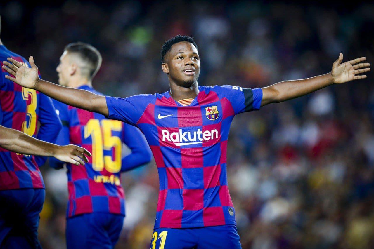 Espana Quiere Nacionalizar A Ansu Fati Tyc Sports Futbol De Barcelona Atletico Madrid Futbol
