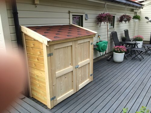 A Outdoor Storage Shed For My Bbq Grill 10 Finishing Up By
