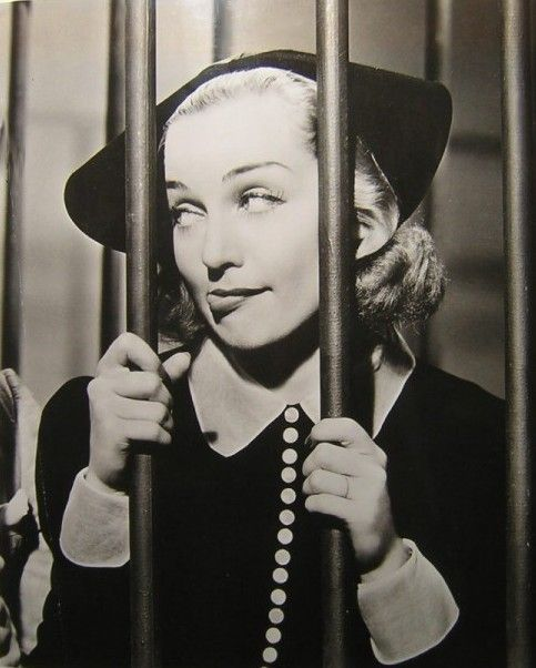 Carole Lombard, being awesome