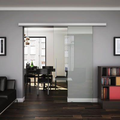 KLUG Vero Glass Sliding Door Gear   IronmongeryDirect.co.uk