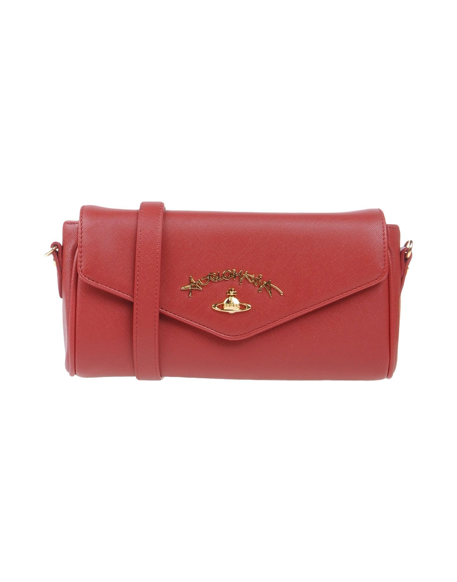 Pochette, Anglomanie, Rouge, Cuir, 2017, Une Taille Vivienne Westwood