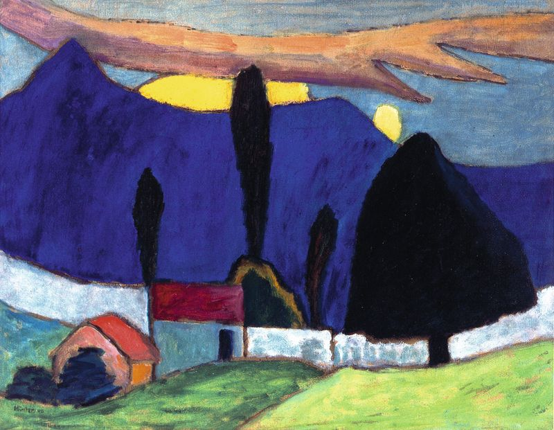 A Rush Of Color Masterpieces Of German Expressionism Leopold