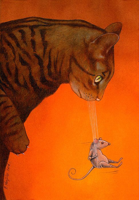 Official page of Pawel Kuczynski, illustrations and satirical drawings