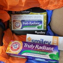 #TrulyRadian Loving this toothpaste im happy I got to try it for Free thanks to smiley360