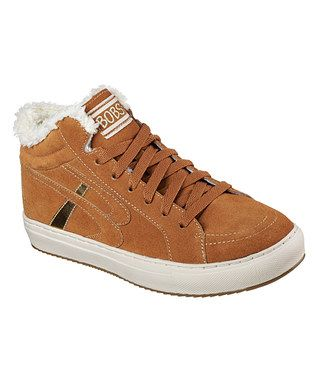Chestnut Puzzles Check Mate Suede Sneaker