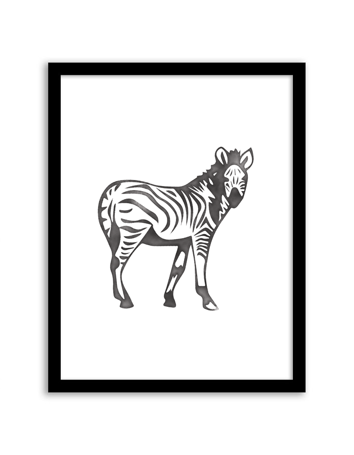 Download and print this free printable Watercolor Zebra wall art for your home or office! Directions: Unlock the download button below. Once you unlock it (by sharing, liking, following), the download buttons will appear. Click the download button below to download the PDF file. Press print. Additional information: Permitted Use: This file is for personal use...