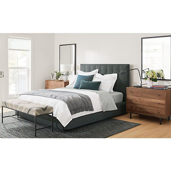 Avery Upholstered Bed Modern Contemporary Beds Modern