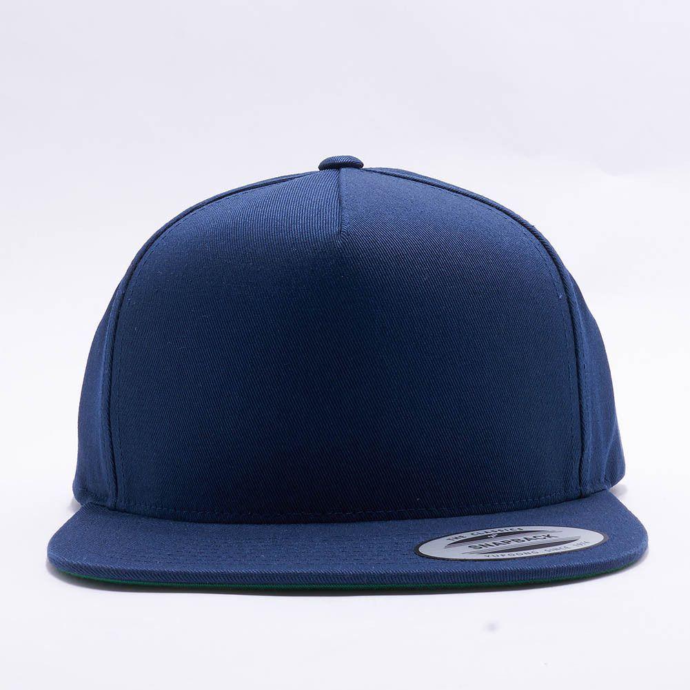f13b6675e Flexfit/Yupoong 6007 5 Panel Cotton Twill Snapback Hat Wholesale ...