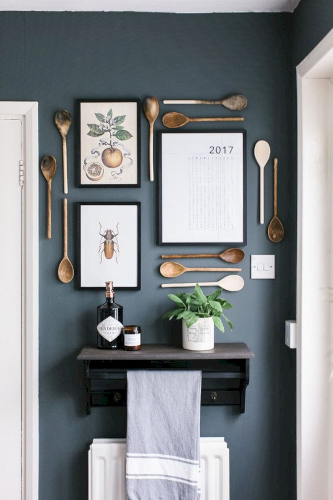 16 Gorgeous Kitchen Wall Decorations  Home decor kitchen, Decor