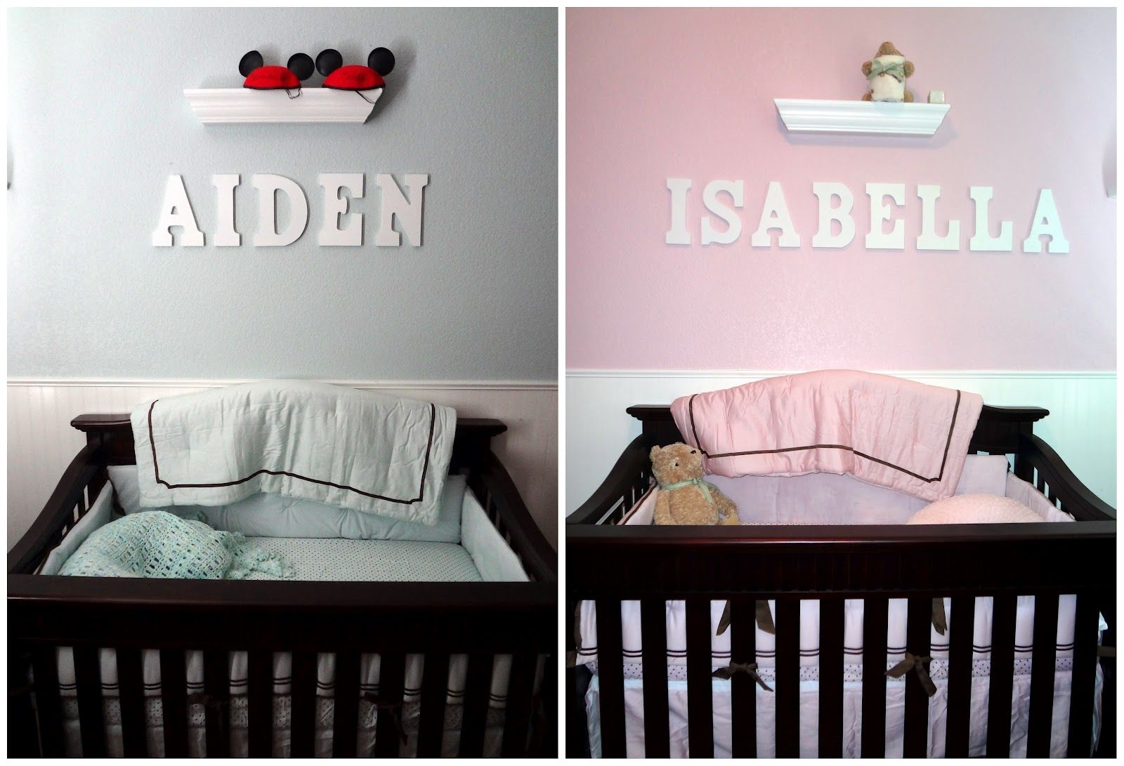 Baby nursery cute decorations twin baby nursery ideas saveemail - Twin Nursery Decorating Ideas 1000 Images About Ideas For The House On Pinterest Wall Mount 1000