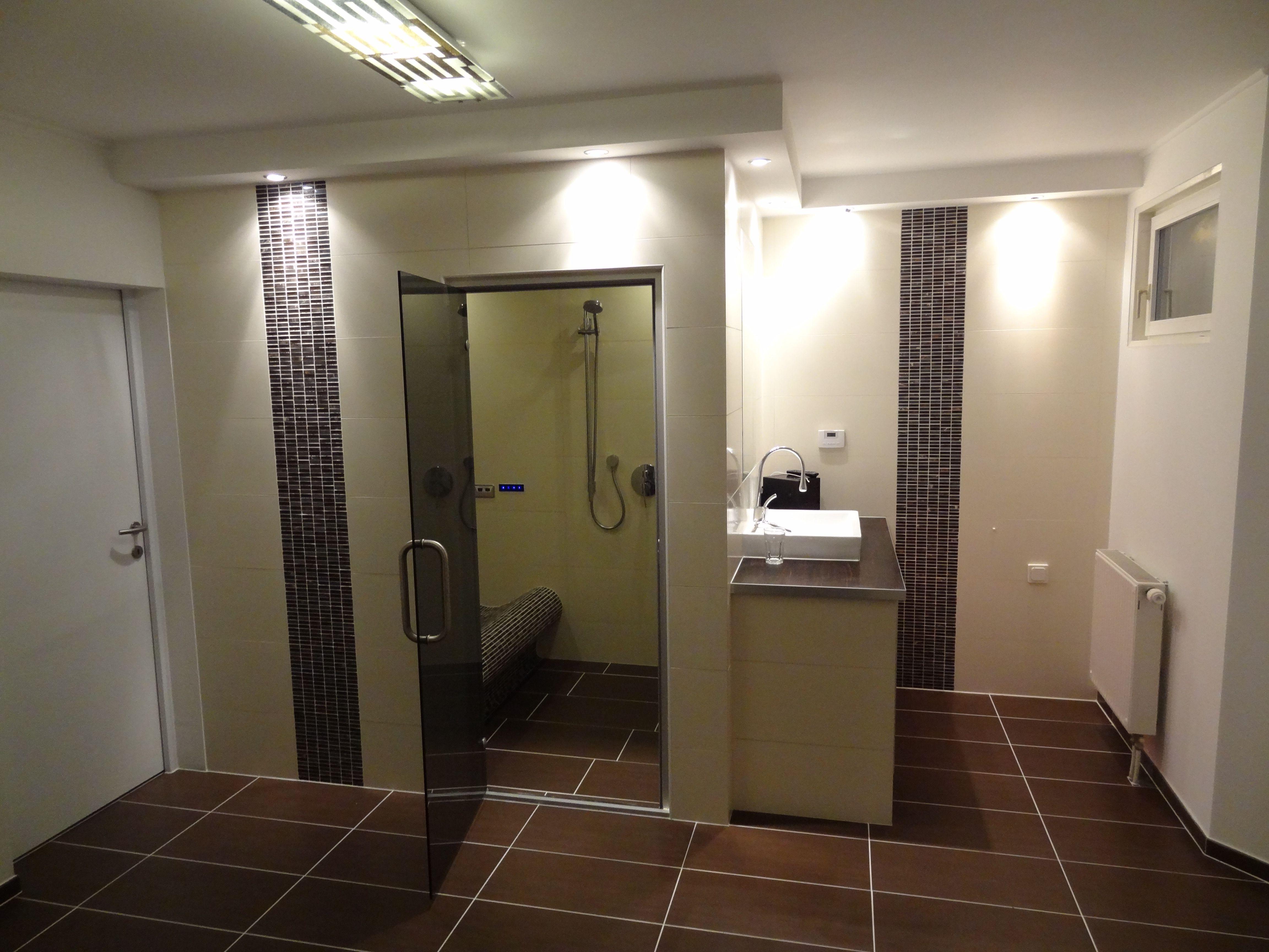 Bathroom With A Steam Room Kellerausbau Mit Dampfbad Dampfbad
