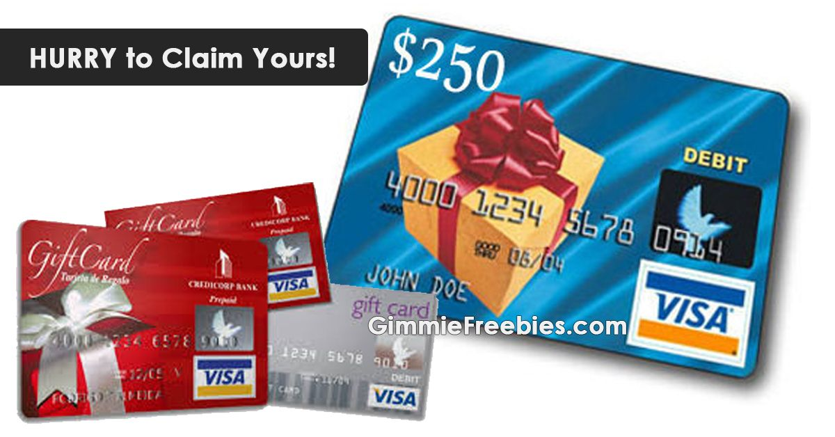 Hurry this one ends soon dont miss it visa gift