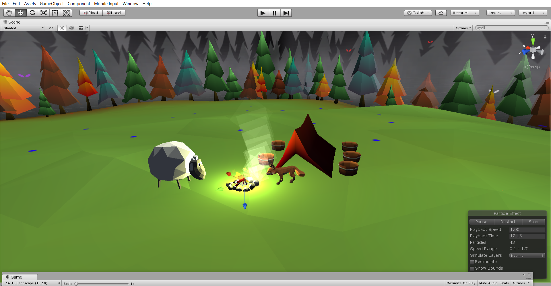 Introduction to mobile game design in Unity (1) with