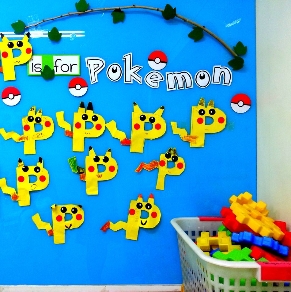 P Is For Pikachu Letter A Crafts Letter P Crafts Crafts