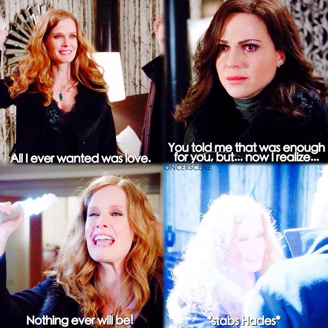 """Zelena sees the truth, love and a life with her will never be enough for Hades - 5 * 21 """"Last Rites"""""""