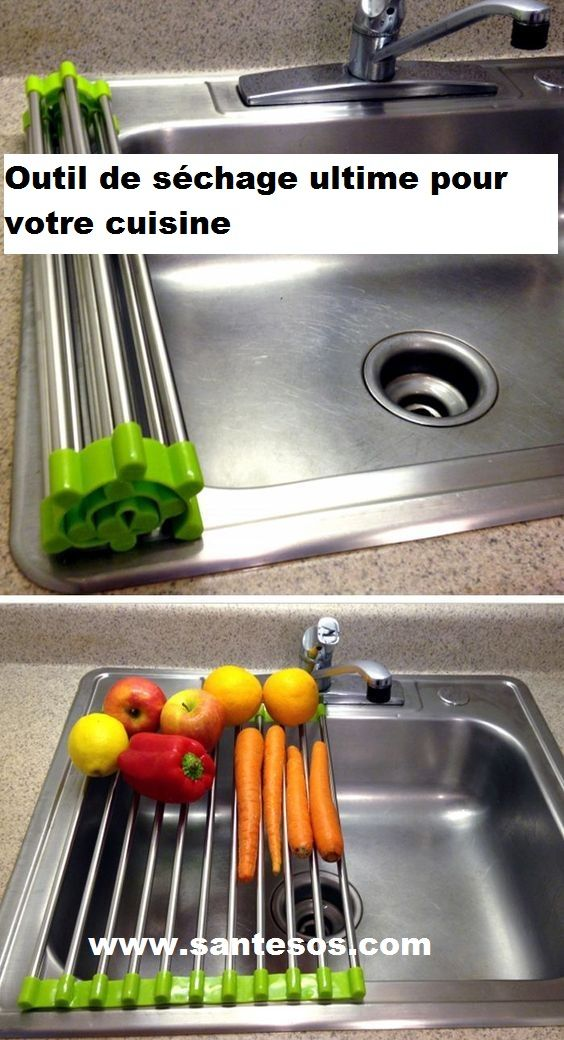 ROLUP™_: Outil de séchage ultime pour votre cuisine