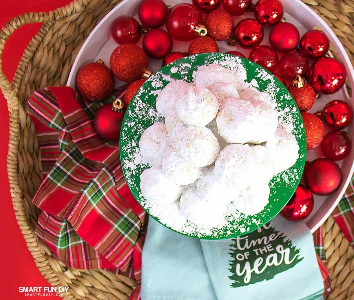 Mexican Wedding Cakes Recipe (or Russian Tea Cakes