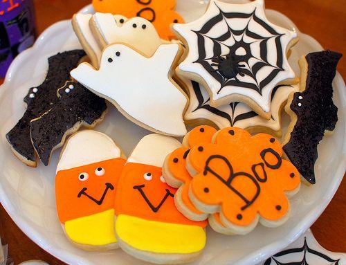 Halloween Cookies Almond butter cookies, Almond butter and Almonds - halloween entree ideas
