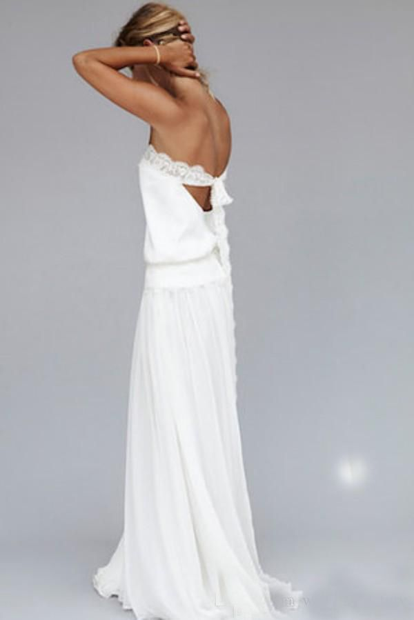 2016-Vintage-1920s-Sexy-Beach-Wedding-Dresses-Strapless-Backless ...