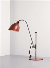 k-type table lamp, model no. 211 by christian dell