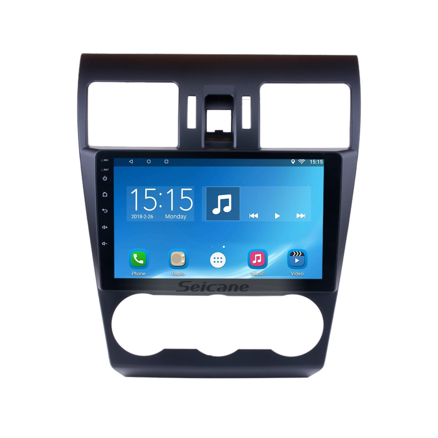 seicane 9 inch 2015 subaru forester android 6 0 radio gps navigation system [ 1500 x 1500 Pixel ]