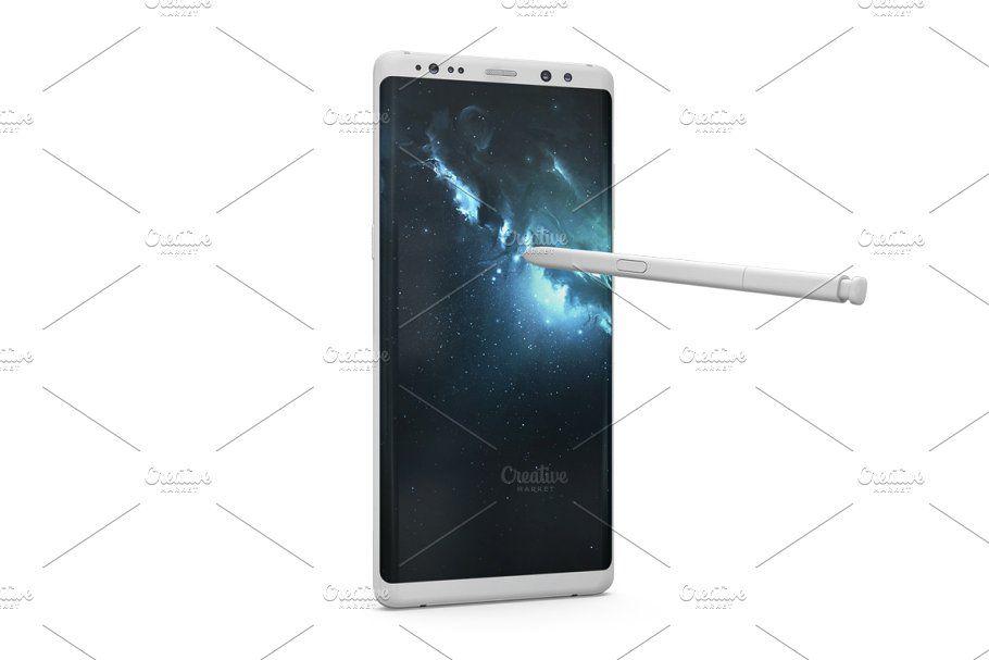 Samsung Galaxy Note 8 Mockup In 2020 Brochure Design Template Personal Presentation Mockup