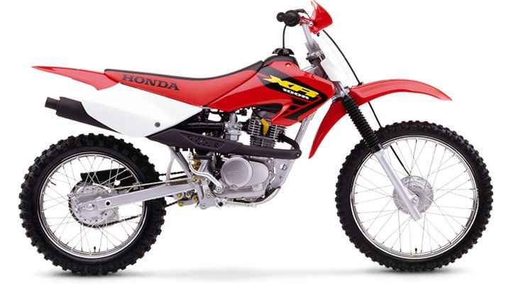 Honda 100 Xr This Is A Newer Year Of My Bike Honda Honda Dirt Bike Motorcycle