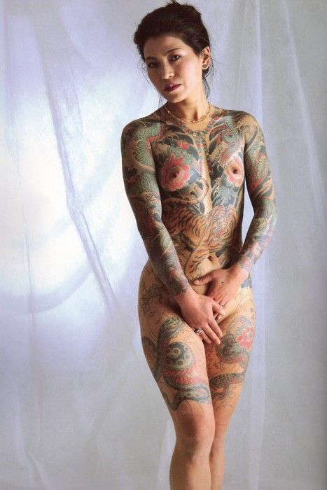Sexy tattoos in nude women-7981