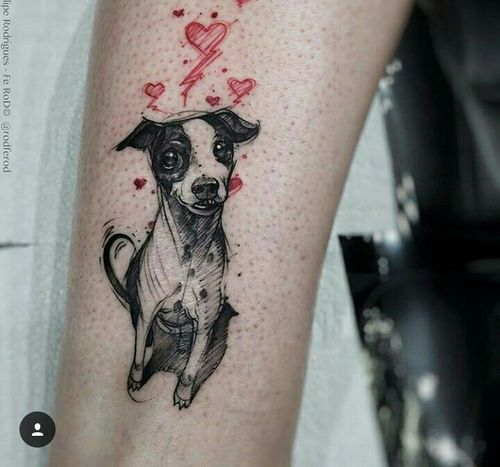 Imagem de black, pet, and tattoo
