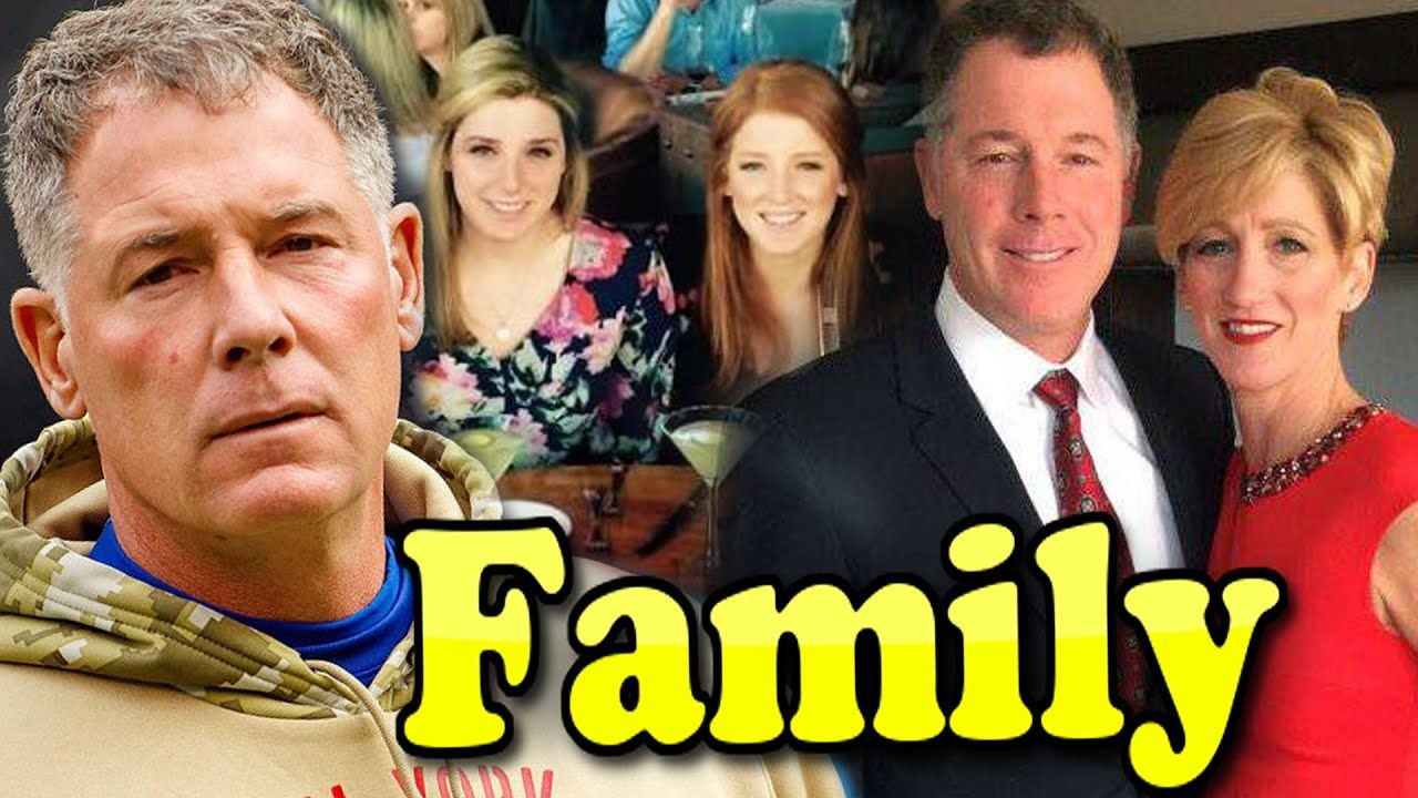 Pat Shurmur Family With Daughter Son And Wife Jennifer Shurmur 2020 In 2020 Wife And Girlfriend Sports Gallery Famous Sports