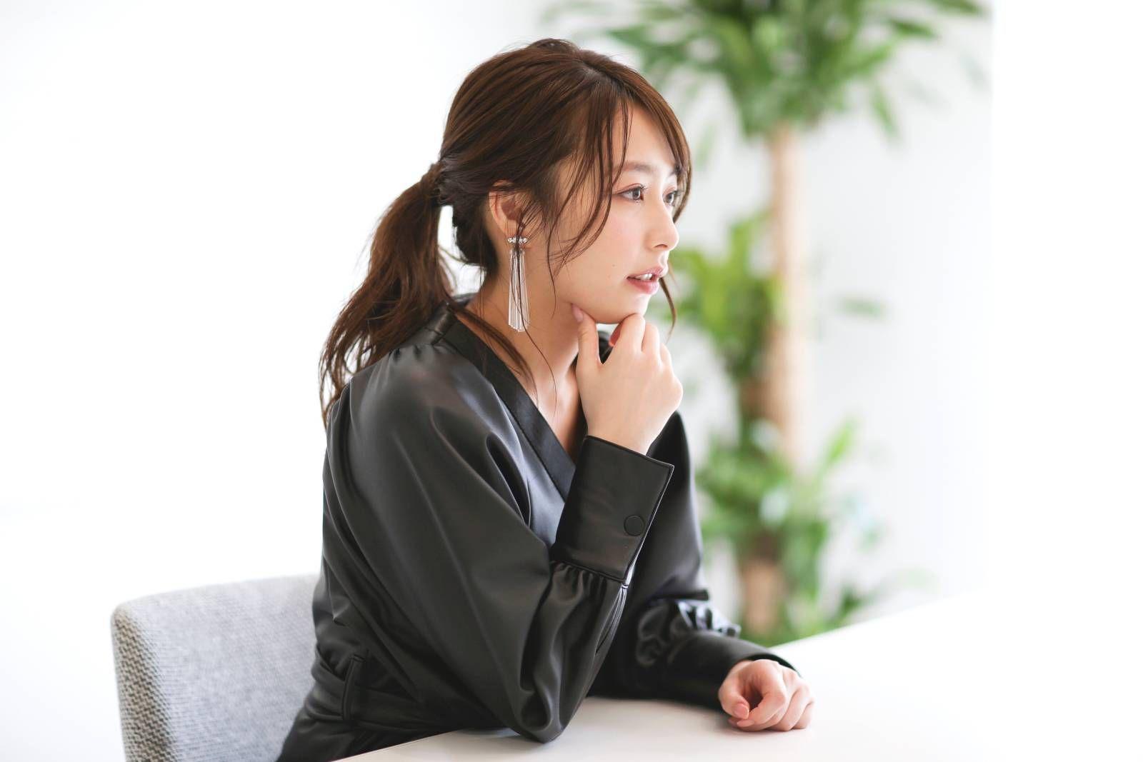 宇垣美里のコンプレックスとは about beauty 前編 4meee 宇垣美里 美貌 ブルー ベスト