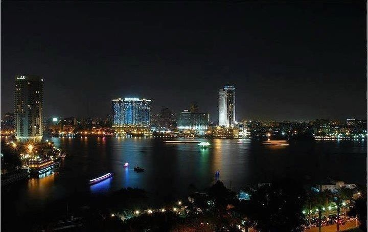 Cairo In Night Best Car Rental Egypt With Images