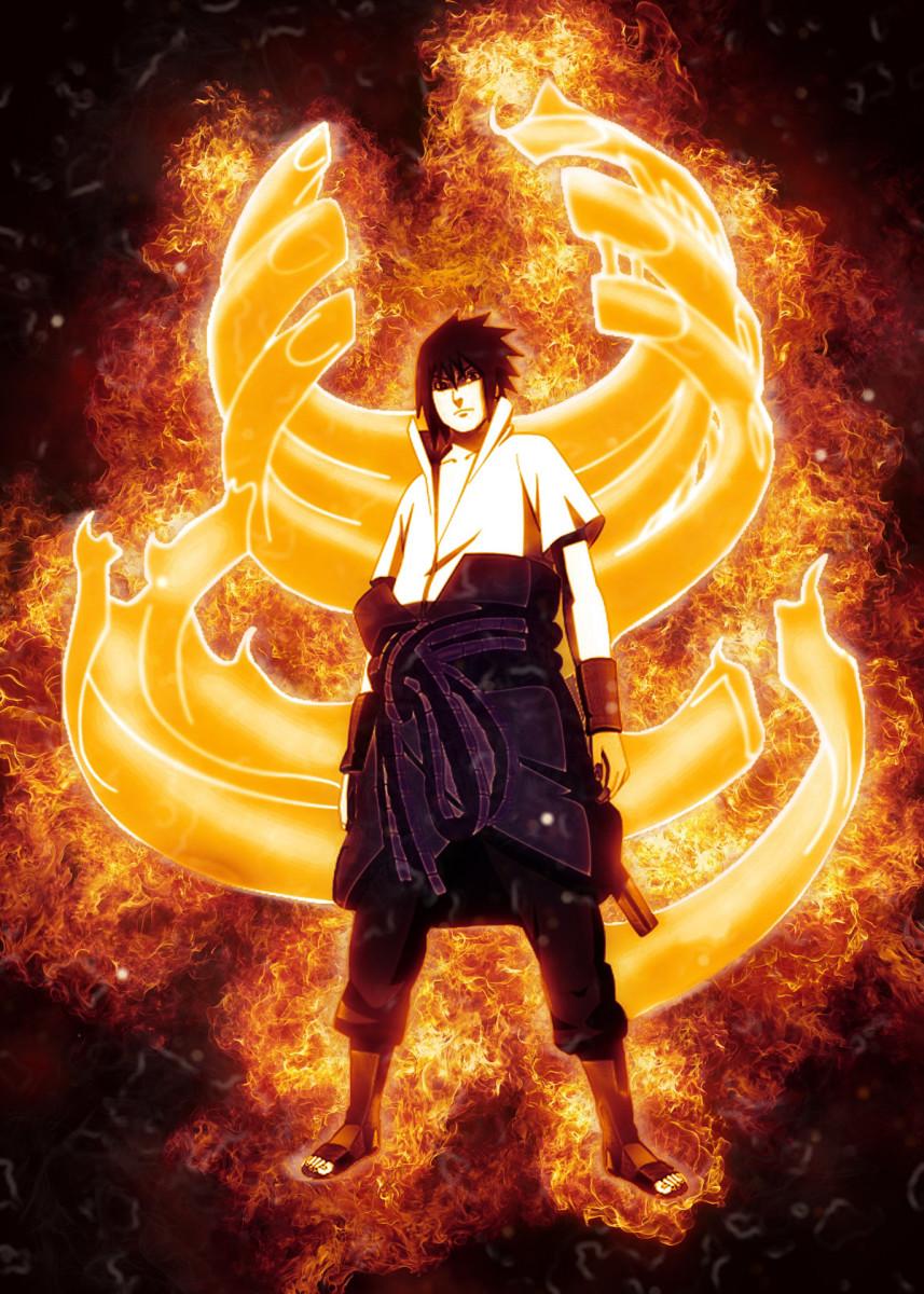Naruto Anime & Manga Poster Print metal posters