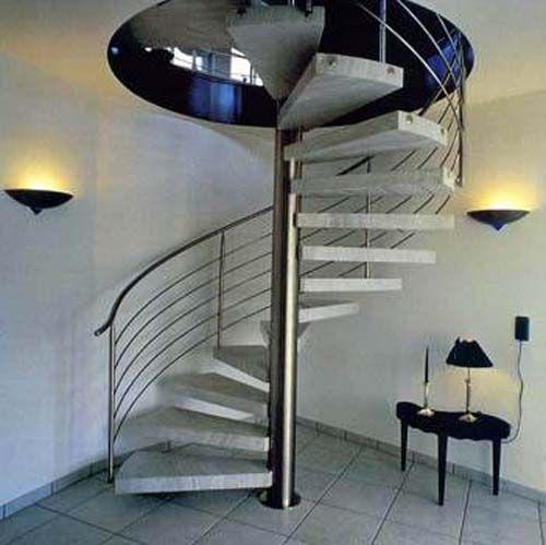 Best Full Circle Modern Staircase Design Kerala House Design 400 x 300