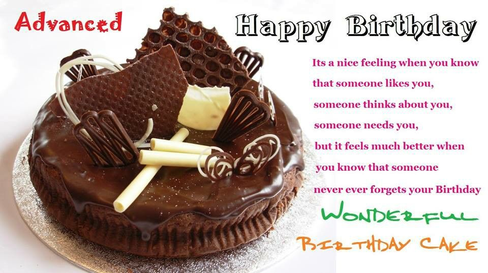 Pin By Inna Gushina On Wishes With Images Birthday Wishes Cake