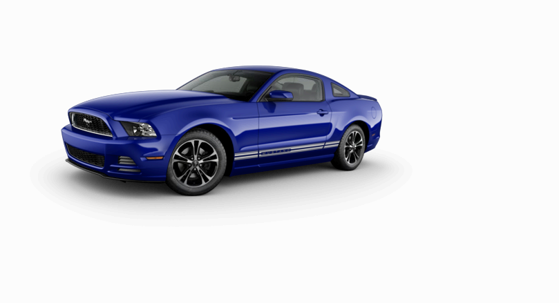 New 2014 Ford Mustang Coupe V6 Premium (Blue Car