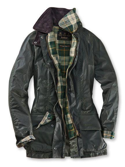 low cost 12193 f1dad Wachsjacke 'Beadnell' von Barbour | My Style | Wachsjacke ...