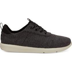 Toms Schuhe Schwarz Terry Textil Cabrillo Für Herren - Größe 43.5 TomsToms #tomwedges