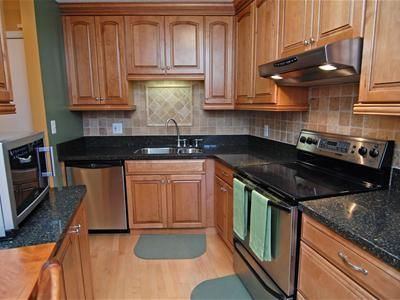Or black granite with maple cabinets? | Building Our Home ... on Maple Cabinets With Black Granite Countertops  id=58340